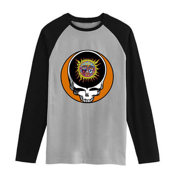 Sublime grateful dead Vintage fashion men women size raglan full sleeves long sleeves t shirt item NO. FLBMSS-076