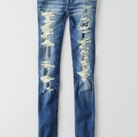 AEO Women's Jegging (Super Destroy)