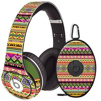 Happy Bright Tribal Skin for the Beats Studio Headphones & Case by skinzy.com