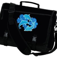 DOLPHIN Messenger Bags Dolphins School Bag or Briefcase Laptop Bags:Amazon:Clothing