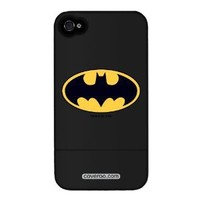 Coveroo Batman - Emblem iPhone 4/4S Slider Case, Black