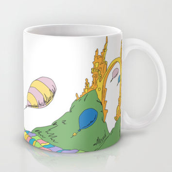 YOUR MOUNTAIN IS WAITING.. DR. SEUSS, OH THE PLACES YOU'LL GO  Mug by Studiomarshallarts