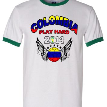 COLOMBIA WORLD CUP T SHIRTS