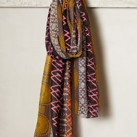 Belize Color Pop Scarf by Anthropologie Purple One Size Scarves
