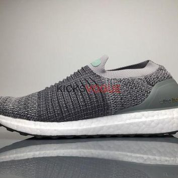 DCCKIN2 Adidas Ultra Boost Laceless Mid ray White S80956 165 Men Sneaker