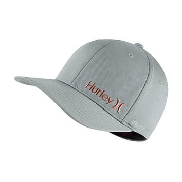 Hurley Dri-Fit Corp Hat - Wolf Grey - L/XL