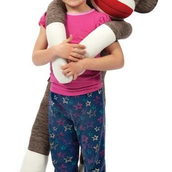 Jumbo Sock Monkey by Schylling - Almost 4' Tall!