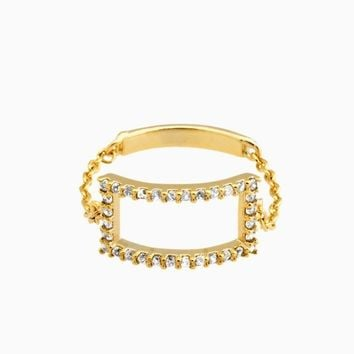Locked Up Chain Ring