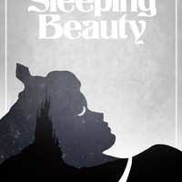 Disney's Sleeping Beauty Minimalist Poster by rowansm on Etsy