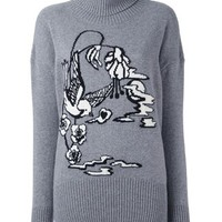 Markus Lupfer Bird Intarsia Jumper - Julian Fashion - Farfetch.com