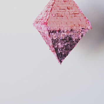 Piñata Octahedron - Pick a Color (Free Shipping)