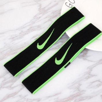 One-nice™ NIKE Sport Yoga Gym Motion Headband Hair Hoop Green