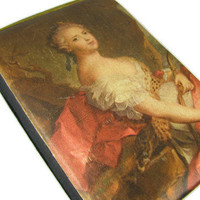 Vintage Marie Antoinette Cigarette Case, Europe - Le Cas de Cigarettes. Vintage Accessories by My Chouchou.