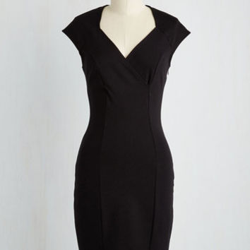 Mid-length Sleeveless Sheath Winery Diaries Dress