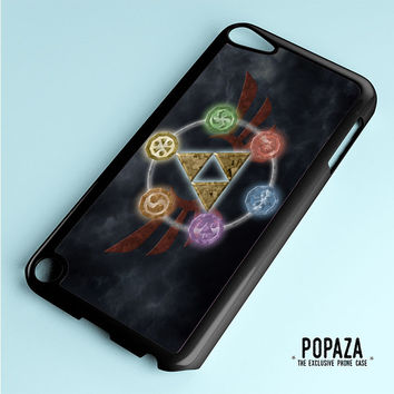 Zelda Triforce Element iPod Touch 5 Case