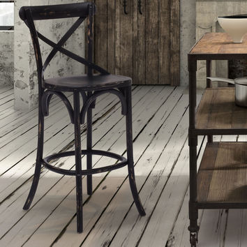 Lucy Stool - Antique Black