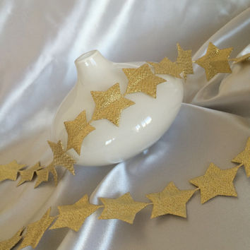 "1 yard 1.5"" star banner ribbon,metallic gold puffed star trim,embellishment,crafts,card making,gift wrap,sewing,scrapbooking,greeting cards"