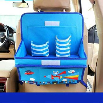 Oxford Cartoon Auto Organizers / Strorage For Back Seat For Kids