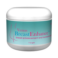 Venus Breast Enhance Natural Breast Enlargement Cream 4oz Jar 4-6 Weeks Supply