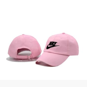 Pink Nike Authentic Embroidered Baseball Caps Hat
