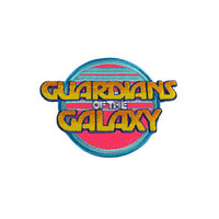 Guardians Of The Galaxy Logo Iron-On Patch