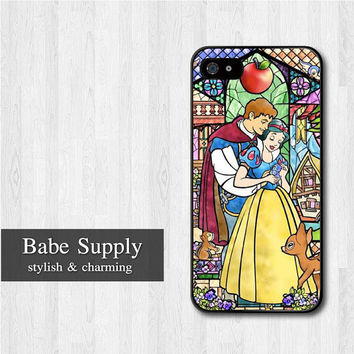 Snow White iPhone 5 case, Disney iPhone 5 hard case, Princess cover skin case for iphone 5 (Hard / Rubber case for choice)