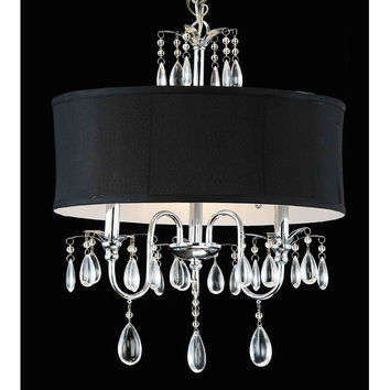 Black and white chandelier shades thejots black and white chandelier shades chandeliers design lighting ideas aloadofball Images