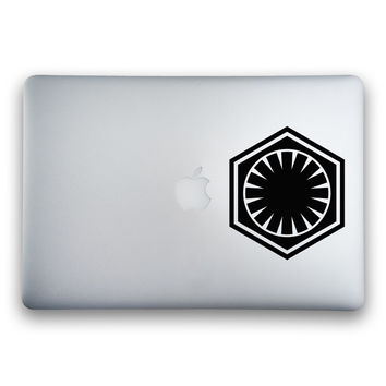 The First Order Logo from Star Wars: The Force Awakens Sticker for MacBooks and Apple Devices