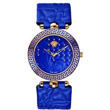Versace Women's VK7040013 Vanitas Rose Gold IP Interchangeable Strap Watch