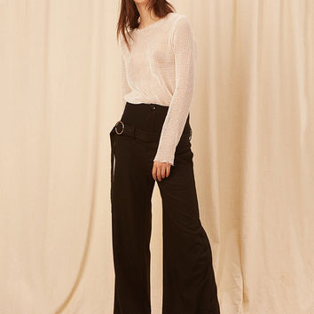 DIDDI High Waist Wide Leg Pant
