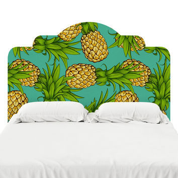 Crazy Pineapples Headboard Decal