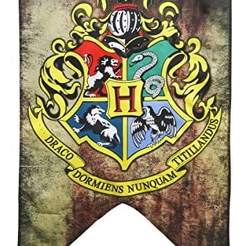 Harry Potter Hogwarts Wall Banner