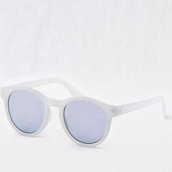 Aerie Round Sunglasses , Blue