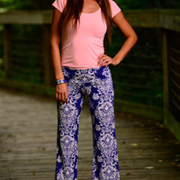 Great Tropics Pants, Royal