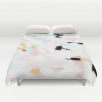 Summer Abstract 2 Duvet Cover by Allyson Johnson | Society6