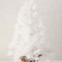 White Tinsel Tree