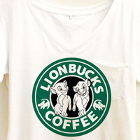Lionbucks Shirt | Lion King Starbucks | Disney