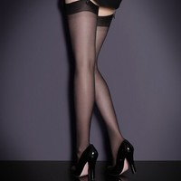 Silk Stocking Black