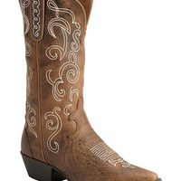 Justin Fancy Stitched Stampede Cowgirl Boots - Snip Toe - Sheplers