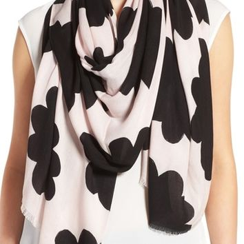 kate spade new york petal stamp scarf | Nordstrom