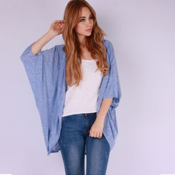 Loose Casual Cardigan  10194