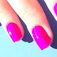 Pink nail polish trends nail art color weet look by BeautyLineAda