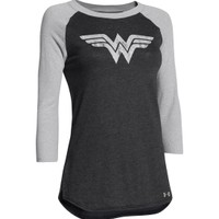 Under Armour Women's Alter Ego Wonder Woman Shimmer Frost Long Sleeve Shirt | DICK'S Sporting Goods