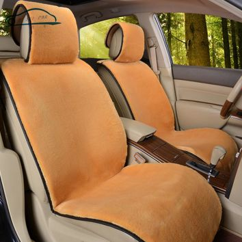 Supply New winter Car Short plush Cushion Car Seat Cover Plush Seat Pad Wool Mat
