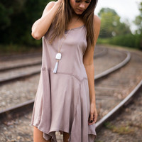 The Sally Tunic, Taupe