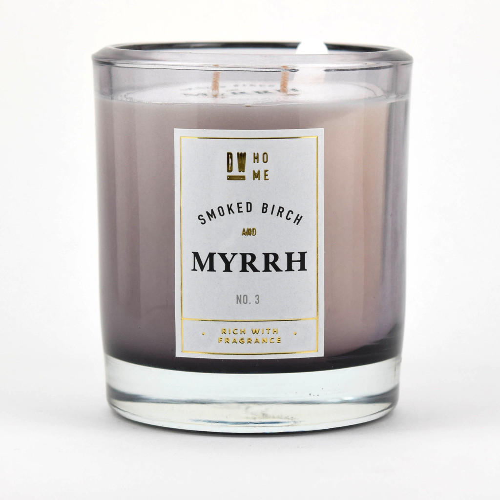 smoked birch and myrrh dw home scented from. Black Bedroom Furniture Sets. Home Design Ideas