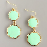 Mint Moroccan Bazaar Earrings