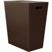 Kin Ecopelle Small Hamper Laundry Basket With Lid - Synthetic Leather