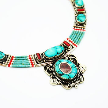 NEPALESE ➳ TURQUOISE NECKLACE 9
