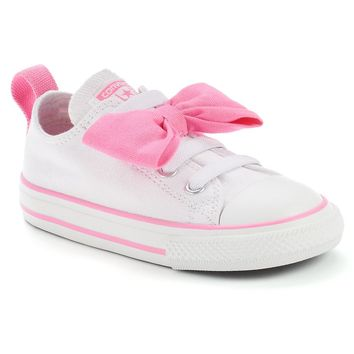 Converse Betty Bow Toddler Girls  Sneakers (White) 597e58d6d9